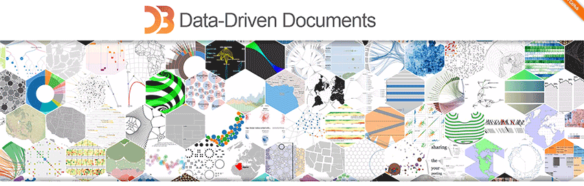 D3.js homepage banner
